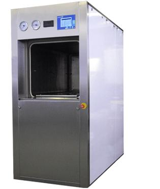 Large Vertical Opening Square Chamber Autoclave