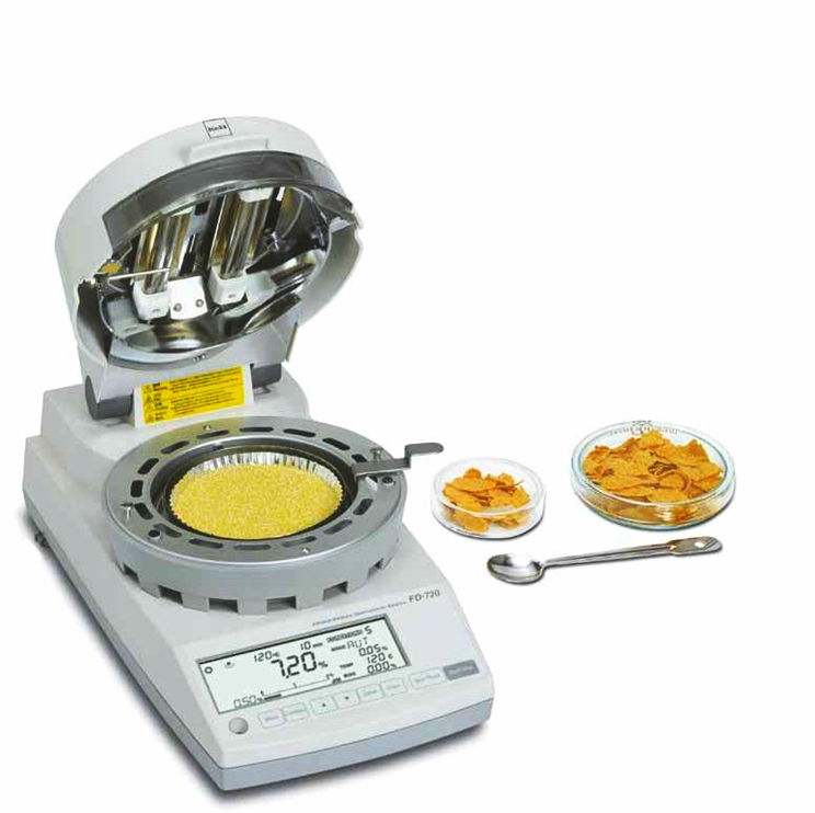 Infrared Moisture Balance (FD-720) With Samples